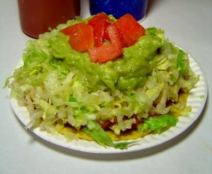 Chalupa with Guacamole